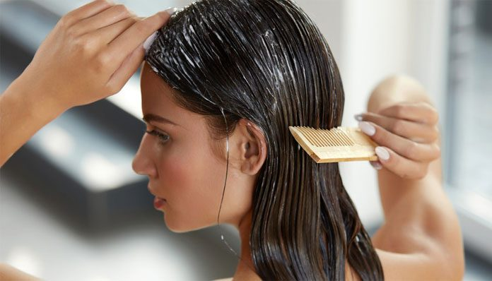 How to make banana hair mask