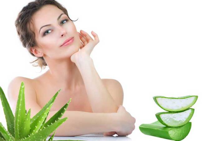 Aloe vera tighten skin